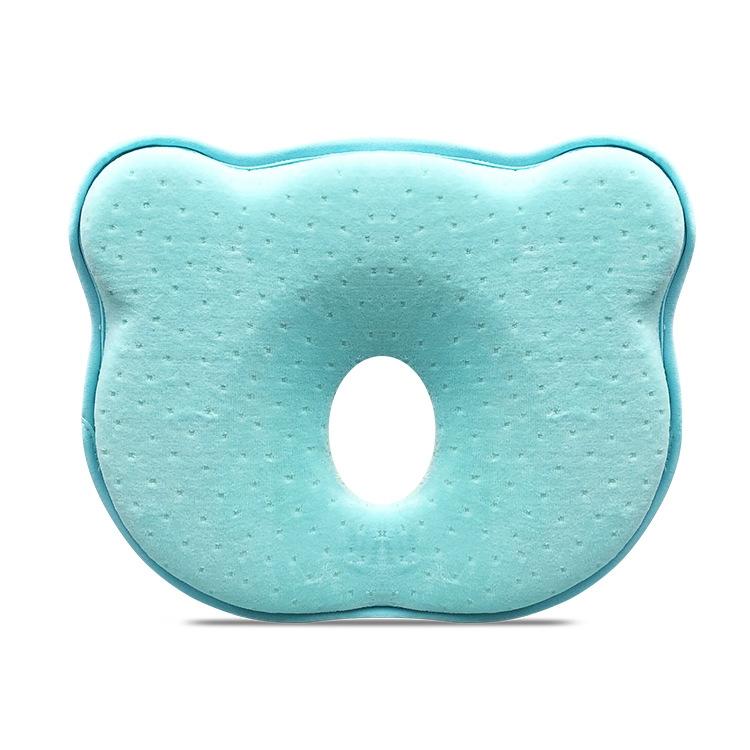 着心地抜群 無地  通気性 耐久性 ポリウレタン 子供枕 子供用品