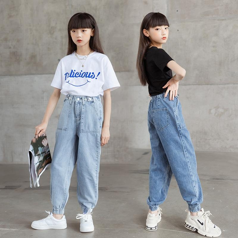 スウィート ファッション 無地 スキニーパンツ テーパードパンツ ボトムス 子供服