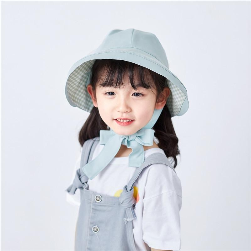 気質溢れる♪ エレガント✿ 無地  カラーブロック 軽さ 子供雑貨 帽子 子供雑貨