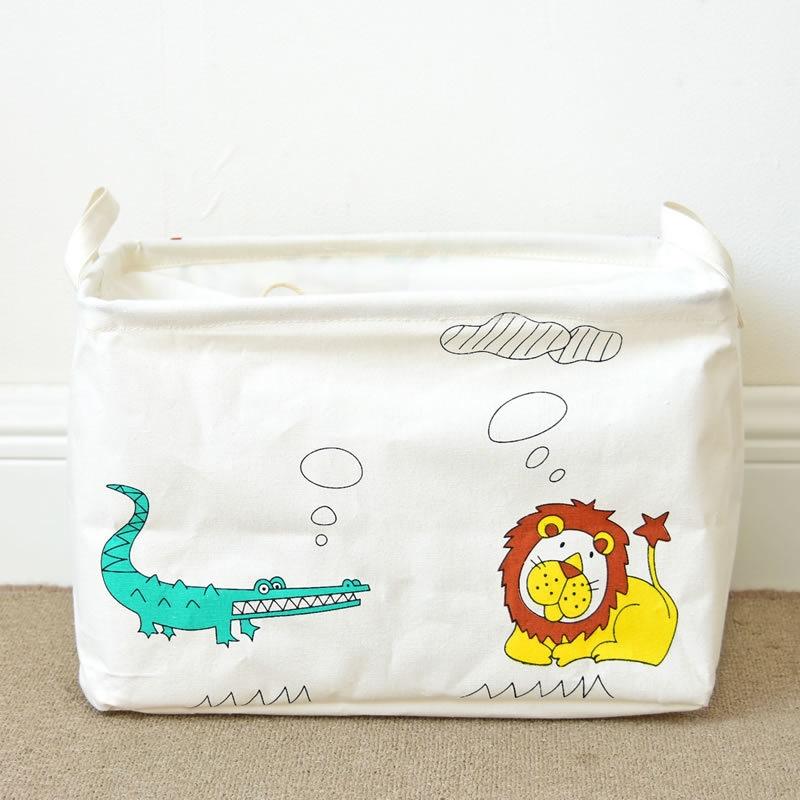 個性的なデザイン♪ 布帛(ふはく) プリント 配色 子供用品 収納 子供用品