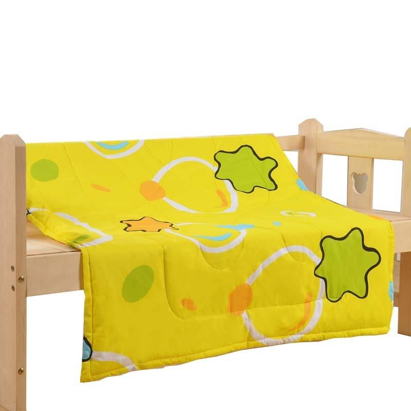 キュート コットン プリント 2色選択可 耐久性 子供布団 子供用品