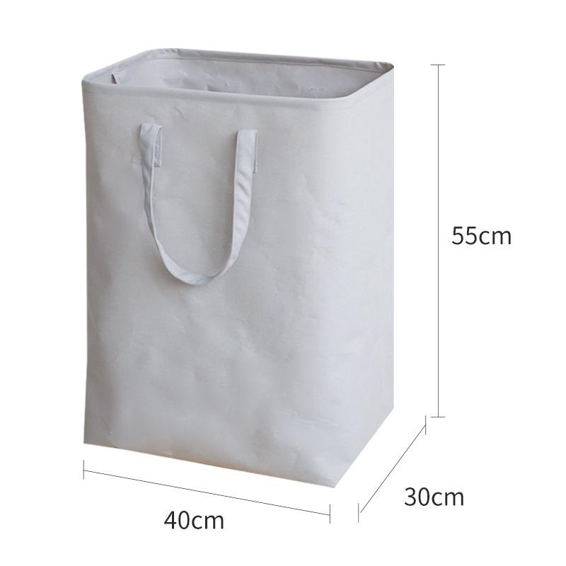 エレガント✿ ズック 無地  ホワイト グレー  軽さ 軽量 子供用品 収納 子供用品