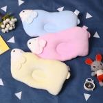デザイン感 ベルベット 3色選択可  通気性 吸汗 子供枕 子供用品